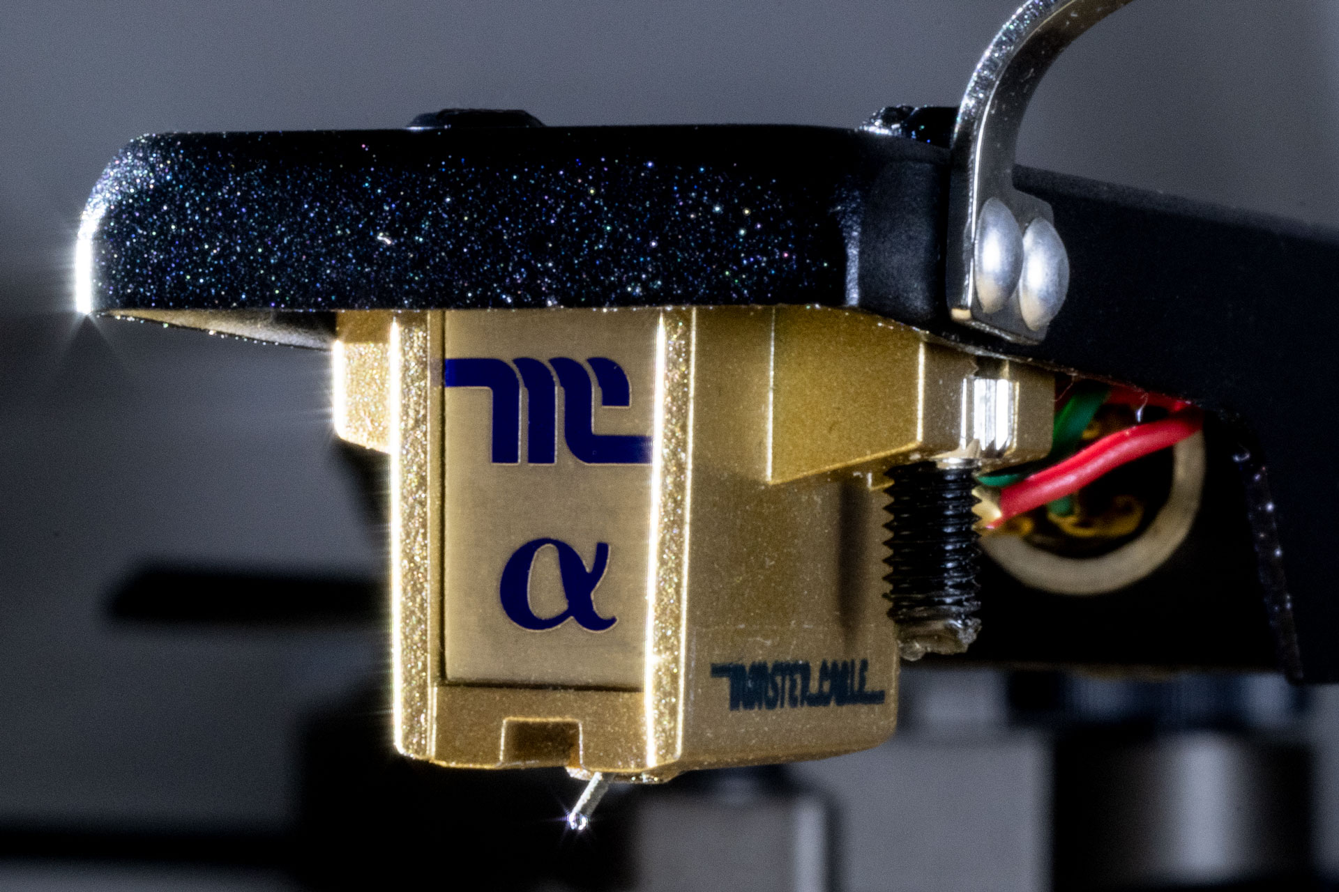 Monster Cable Alpha 1 moving coil phono cartridge, sans stylus