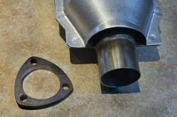 Alfetta Exhaust Flange and Converter