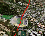 Fly Over the Hayward Fault