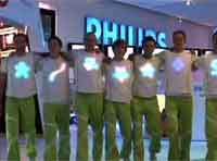 Light-emitting shirts!