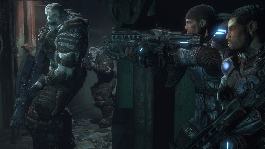 Marcus and Dom - Gears of War
