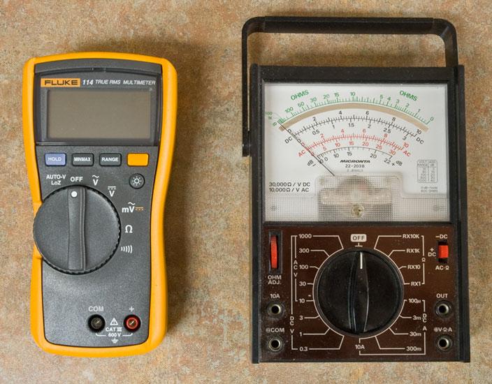 Radio Shack Capacitance Meter : A fluke leslie wong
