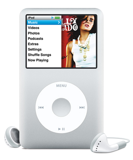 how to turn ipod classic on