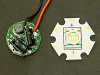 3.6V~9V 800mA Regulated IC Circuit Board and Cree P4 LED