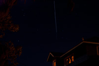 ISS and STS-129 Fly Over