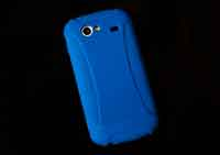 Nexus S - Amzer Silicone Skin Jelly Case - back