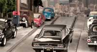 Bullitt Car Chase With Slot Cars