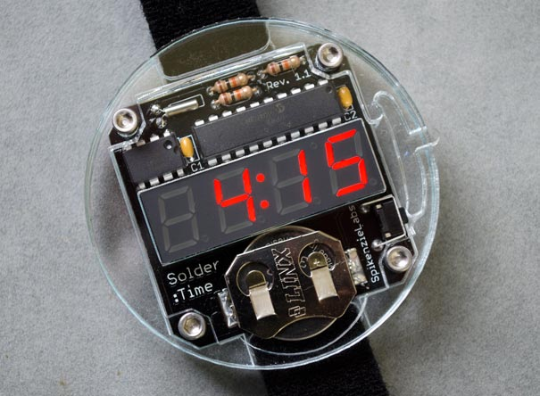 Solder : Time™ Watch Kit.