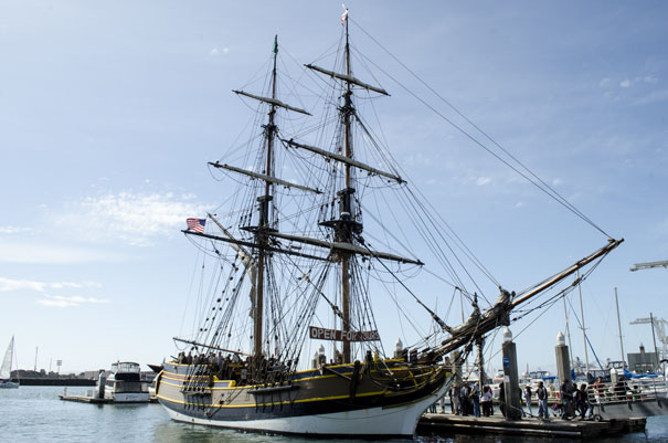 The Lady Washington, Jack London Square