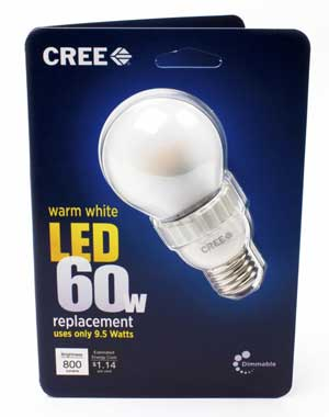 Cree LED Light Bulb Packaging