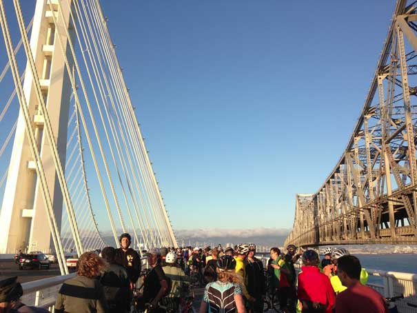 San Francisco - Oakland Bay Bridge's new East Span Bicycle/Pedestrian Path