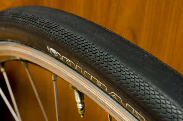 Specialized Roubaix Armadillo Elite tire at 5835 miles (9390 km)