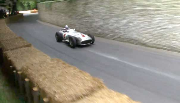 Mercedes-Benz W196 at the 2014 Goodwood Festival of Speed