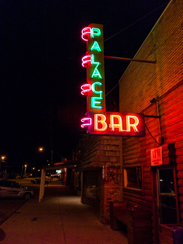 Palace Bar, Fort Benton, Montana