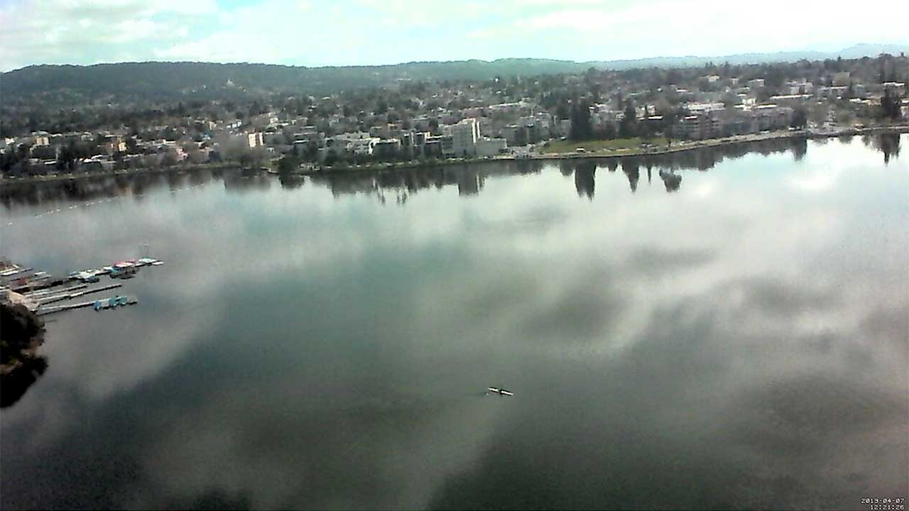Lake Merritt Webcam in Oakland