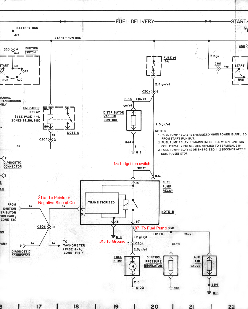 Fuel Pump Relay Diagram A Leslie Wong Blog Circuit Design