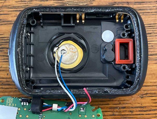 Garmin 130 battery replacement