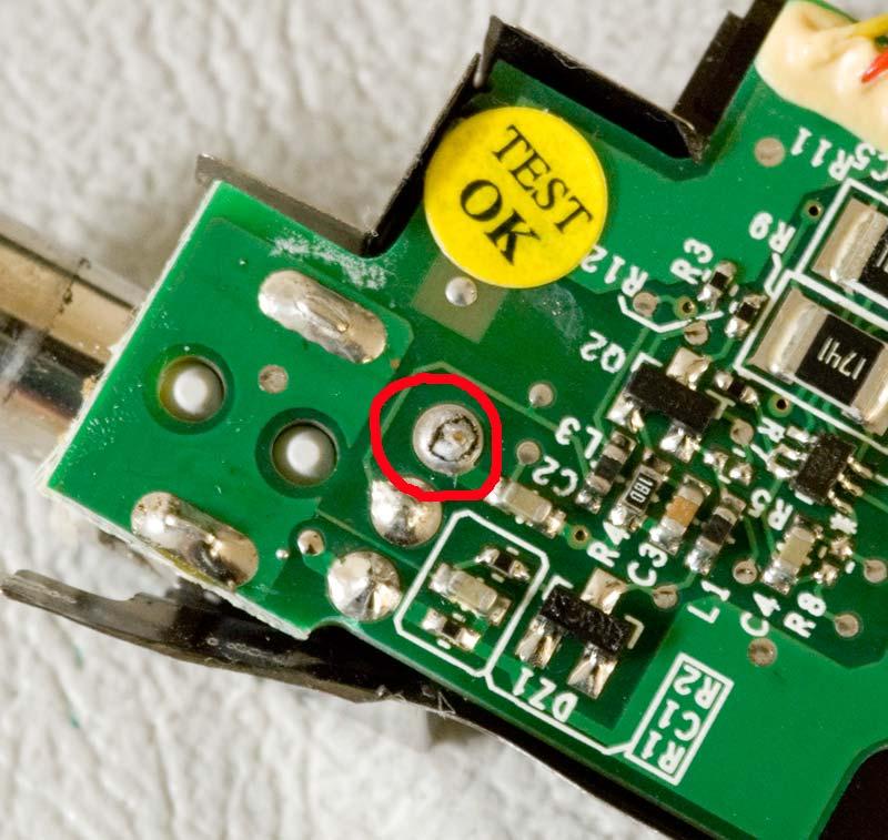 Powerbook G4 12″ (rev A) Broken solder joint