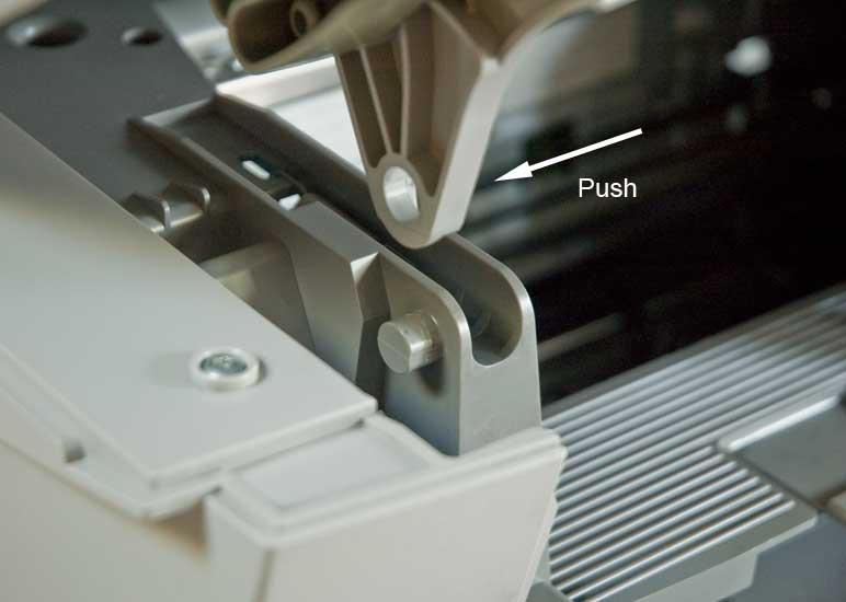 HP Officejet g55 hinge