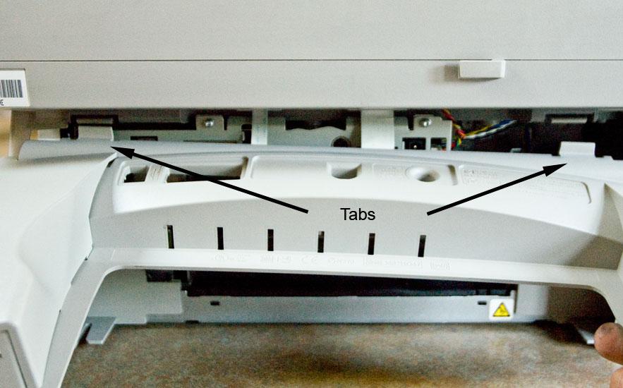 HP Officejet g55 rear panel (2)